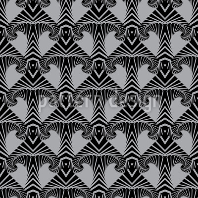 Maori Arrow Seamless Vector Pattern Design
