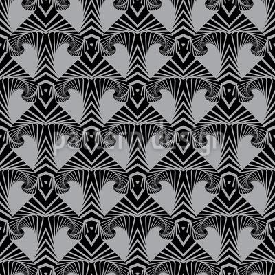 Maori Arrow Seamless Vector Pattern