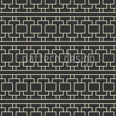 Traditionelles Gitter Nahtloses Vektor Muster