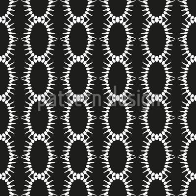 Gekettete Ovale Nahtloses Vektor Muster