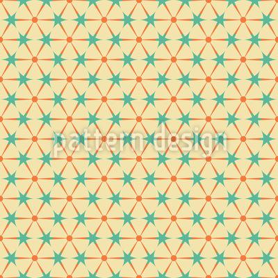 Kreise Und Dreiecke Rapportiertes Design