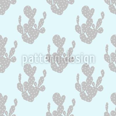 Himmlischer Kaktus Muster Design