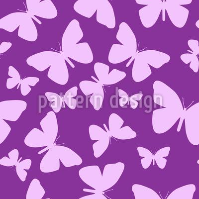 Schmetterlinge So Weit Das Auge Sieht Musterdesign