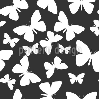 Butterflies As Far As The Eye Can Look Design Pattern