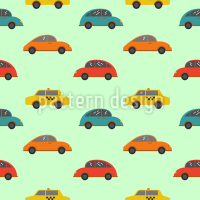 Cartoon Cars Repeat