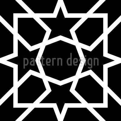 Traditional Arabic Pattern Design