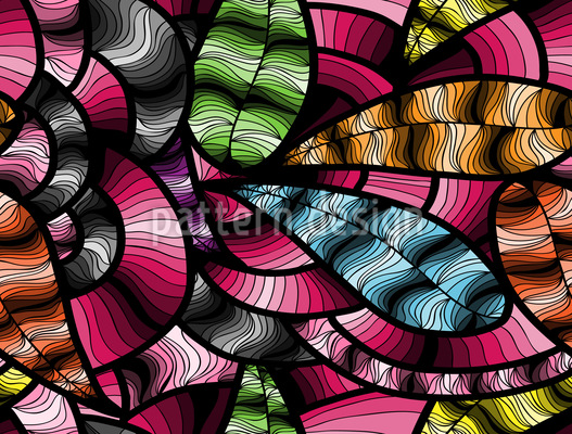 Abstract Shades Seamless Vector Pattern Design