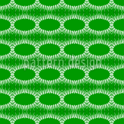 Fringing Ovals Repeat Pattern