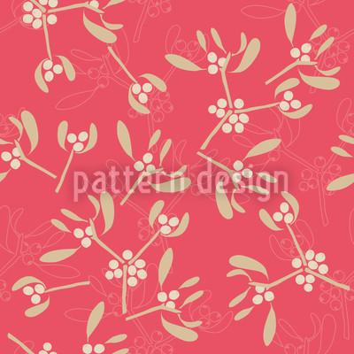 Mistelzweige Pink Vektor Design