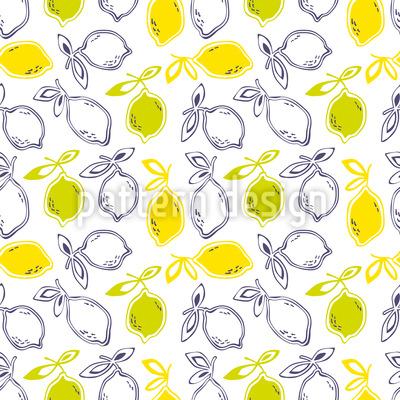 Zitrusfrüchte Musterdesign