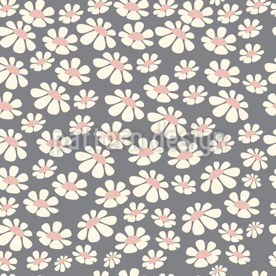 Daisy Field Repeating Pattern