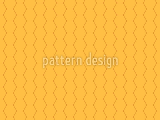 Bienenwaben Überall Nahtloses Muster