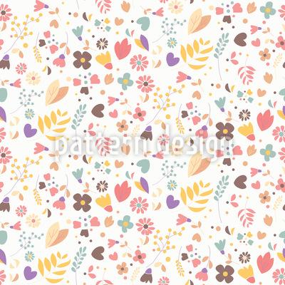 Handgezeichnete Blumen Vektor Design