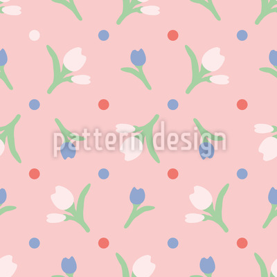Tulpenfrühling Vektor Design