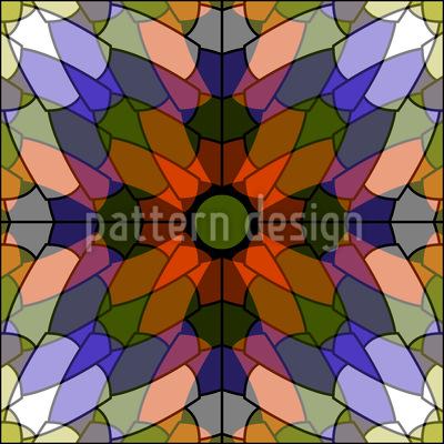 Gekachelte Schönheit Muster Design