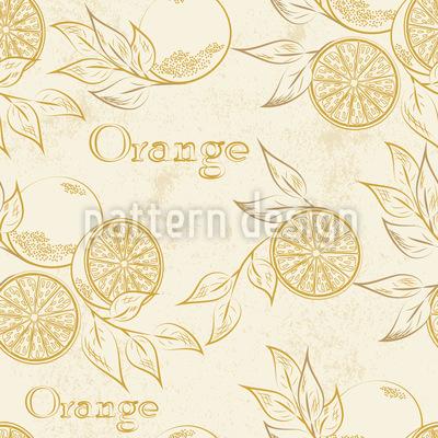 Kalifornische Orangen Designmuster