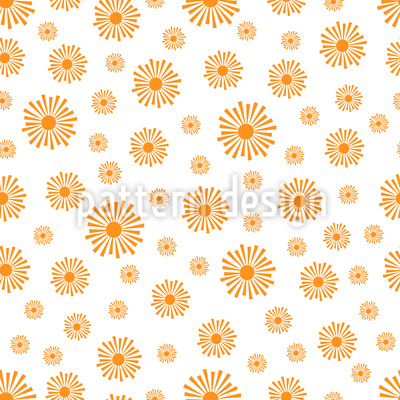 Sonnenstrahlen Vektor Muster