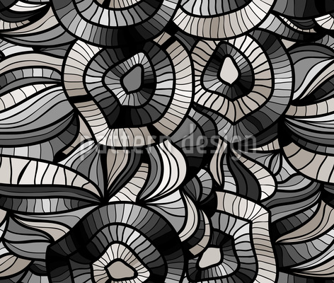 Abstract Vision Seamless Vector Pattern