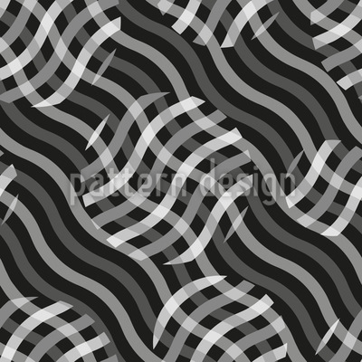 Ontop Of Waves Vector Pattern