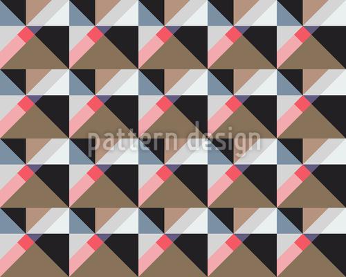 Quadrat Zum Quadrat Nahtloses Muster
