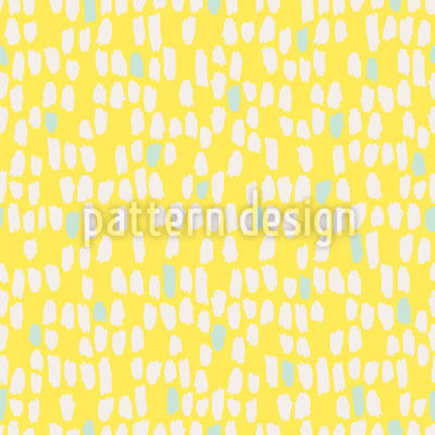 Brush Dots Seamless Vector Pattern Design