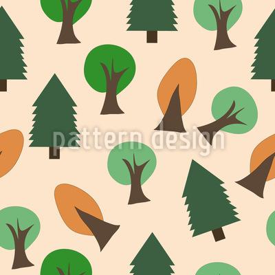 Baum Wirrwarr Muster Design
