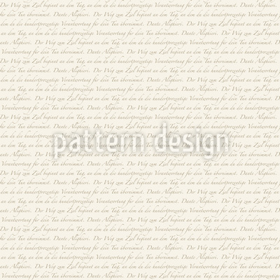 Dantes Way In German Repeat Pattern