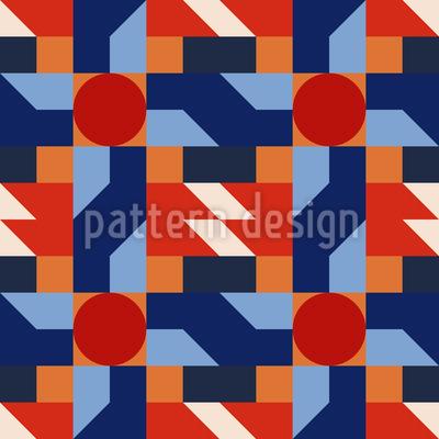 Retro Geometry Pattern Design