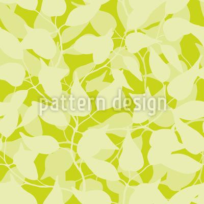 Inside A Jungle Of Leaves Pattern Design