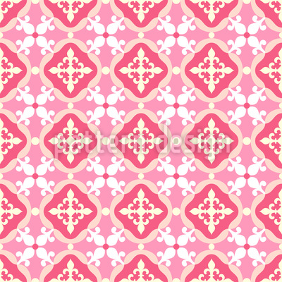 Spanish Tiles Vector Pattern Delectable Spanish Patterns