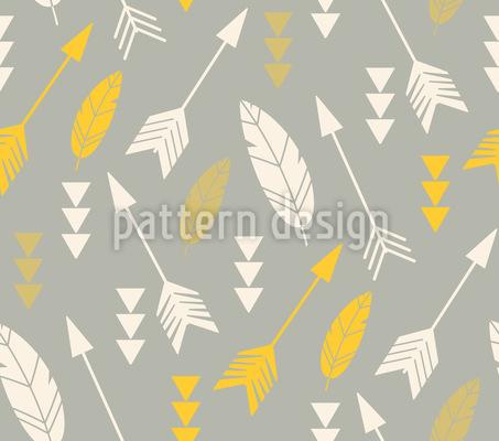 Flying Arrows Pattern Design