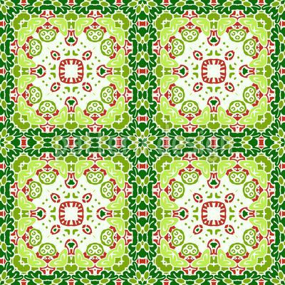 Beautifully Tiled Vector Ornament