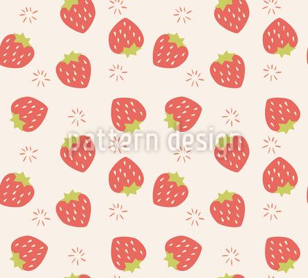 Erdbeeren Vektor Design