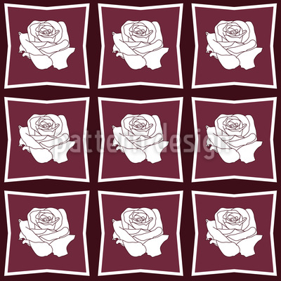 Love In A Frame Vector Pattern