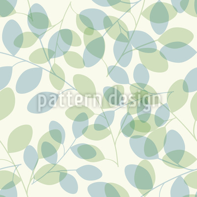 Leaf Shades Seamless Vector Pattern Design