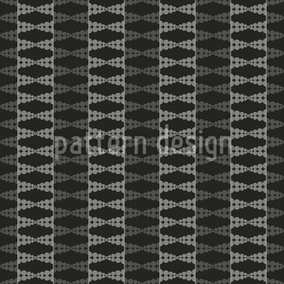 Dotted Stripes Vector Ornament