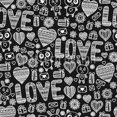 Verstrickt In Liebe Rapportiertes Design