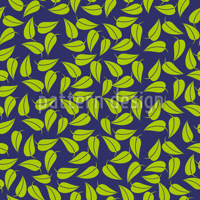 Lemon Leaf Repeat Pattern
