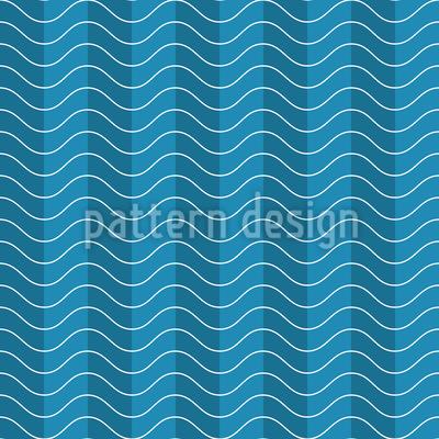 Streifen Wellen Musterdesign