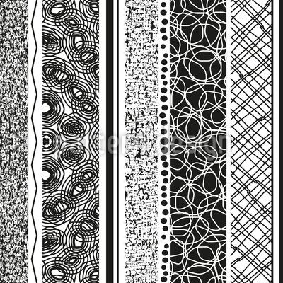 Harmonie Der Unterschiede Rapportiertes Design