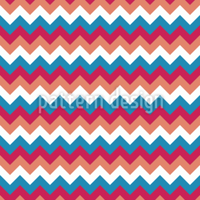 A Lot Of Zigzag Seamless Vector Pattern