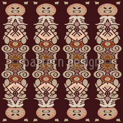 Marterpfahl Säulen Musterdesign