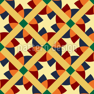 Contemporary Geometry Seamless Pattern