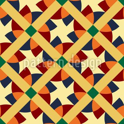 Moderne Geometrie Nahtloses Muster