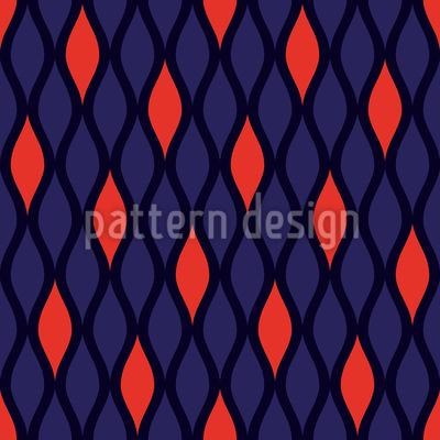Züngelnde Flammen Muster Design