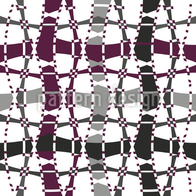 Tipsy Square Seamless Pattern