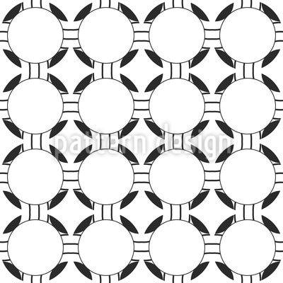 Kreise Im Verbund Nahtloses Vektor Muster