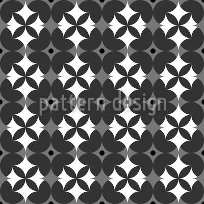 Flowers Side By Side Design Pattern