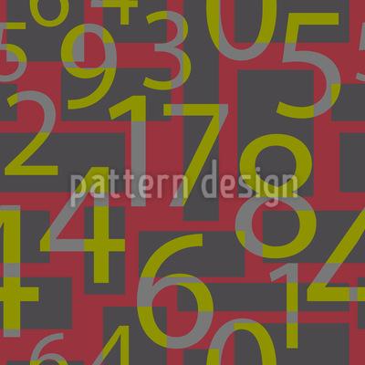 Zahlen Bitte Vektor Ornament