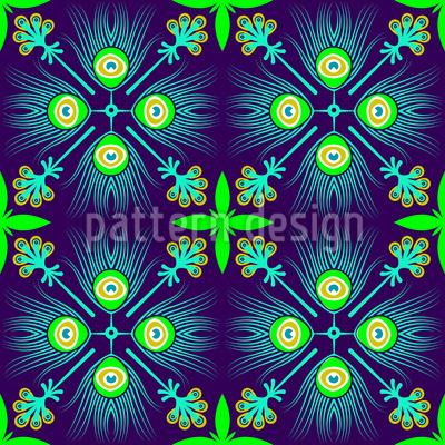 Pfauenfeder Vektor Design
